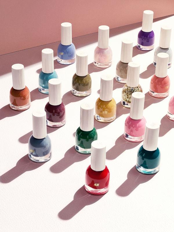 H&M i nowa linia kosmetyków lakiery