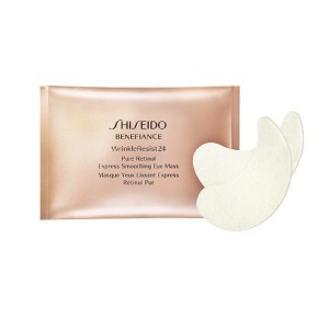 Shiseido, Benefiance WrinkleResist24, Pure Retinol Express Smoothing Eye Mask, Płatki pod oczy