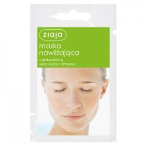 Ziaja, Maska nawilżająca z glinką zieloną