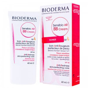 Bioderma Sensibio AR, BB C-ream SPF 30:UVA 17, krem BB do skóry z problemami naczynkowymi