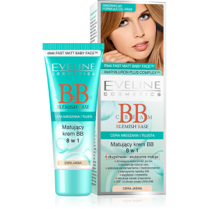 Eveline Blemish Base BB Cream (Matujący krem BB 8 w 1)
