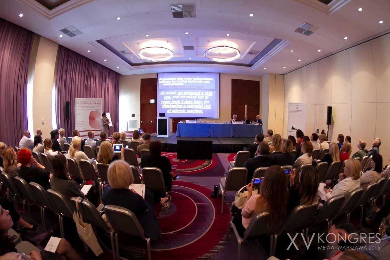 kongres medycyny estetycznej w Warszawie 2016