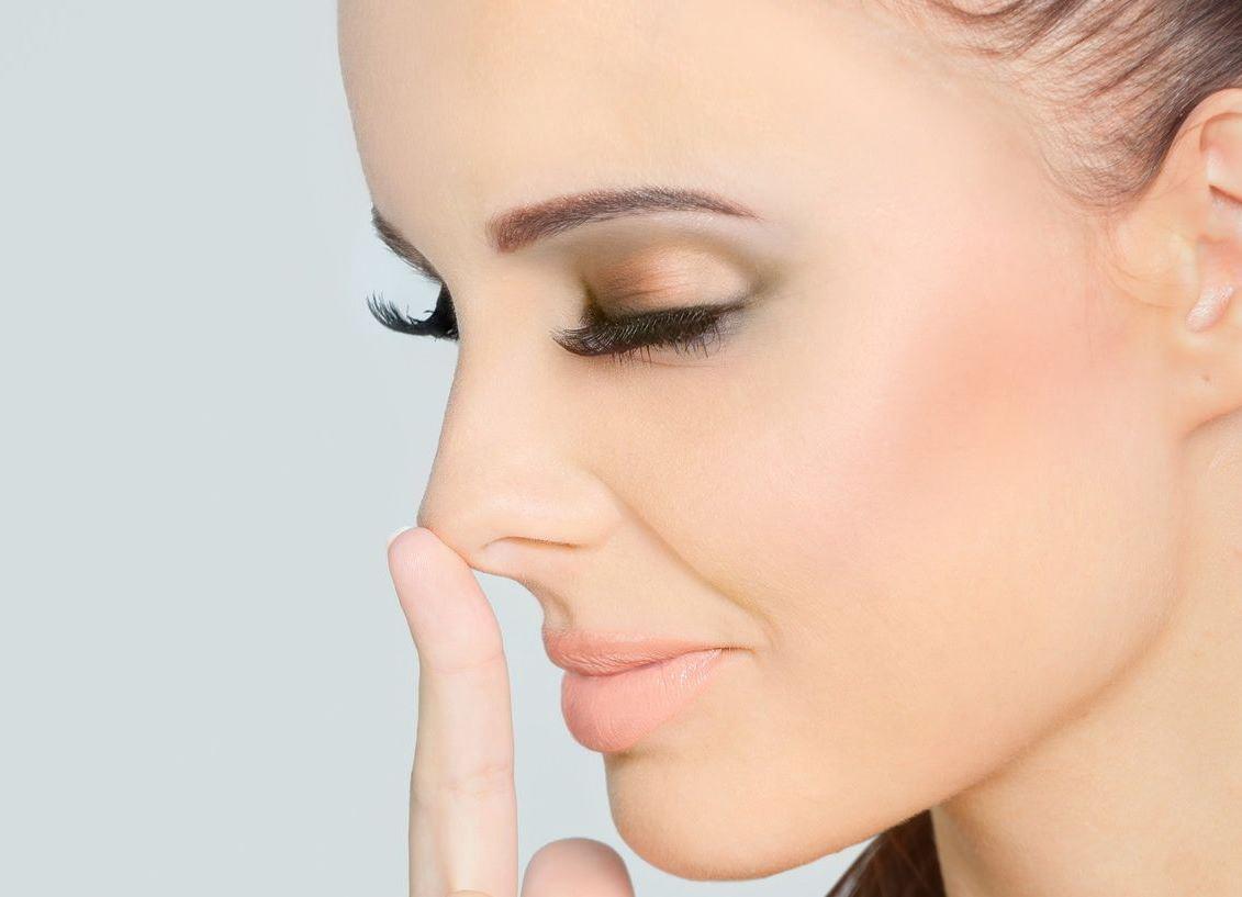 Zmniejszenie czubka nosa