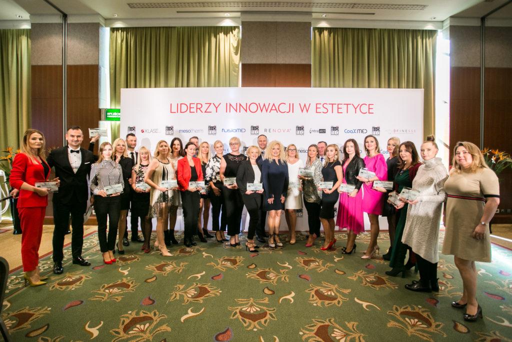 7 urodziny Biotec Lasers Polska, lekarze i kosmetolodzy - nagrodzeni w kategorii Platynowy Partner Biotec