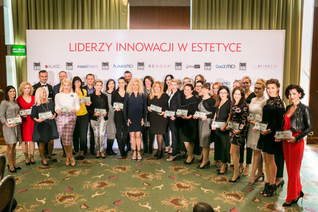 7 urodziny Biotec Lasers Polska, lekarze i kosmetolodzy - nagrodzeni w kategorii Złoty Partner Biotec