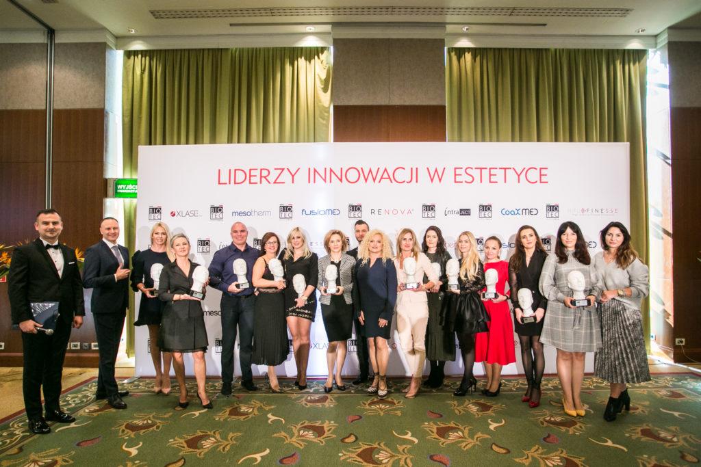 7 urodziny Biotec Lasers Polska, lekarze i kosmetolodzy - nagrodzeni w kategorii Diamentowy Partner Biotec